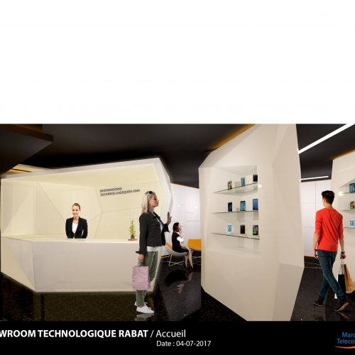 Showroom technologique Rabat