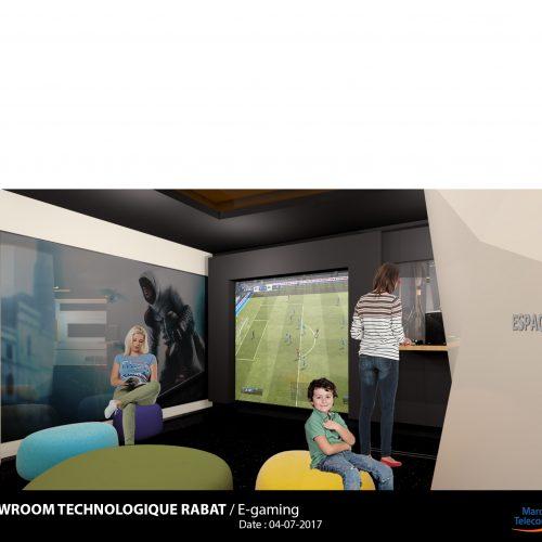 Showroom technologique Rabat